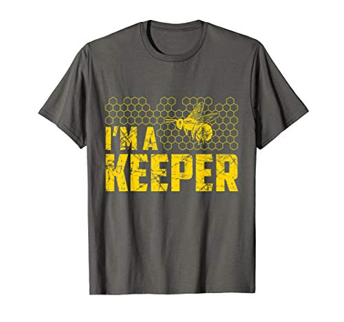 Funny Beekeeping T Shirt Great Gift For Honey Bee keper Love]()