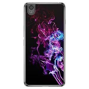 Loud Universe OnePlus X Madala Wood N Marble A Smoke 2 Printed Transparent Edge Case - Multi Color