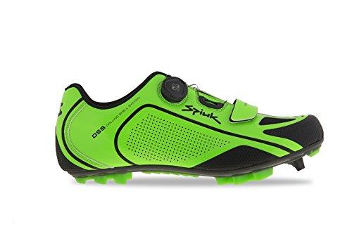 Spiuk Altube Mtb C Sneaker, Unisex Verde / Nero