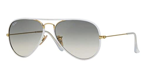 Amazon.com: Ray Ban Aviator Full Color RB 3025JM 146/32 58 ...