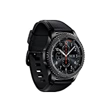 Samsung Gear S3 Frontier Smartwatch 4GB SM-R760 with Silicone Band (Space Gray) Tizen OS - International Version with No Warranty