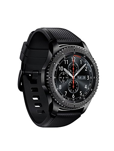SAMSUNG GEAR S3 FRONTIER Smartwatch 46MM – Dark Gray (Certified Refurbished)