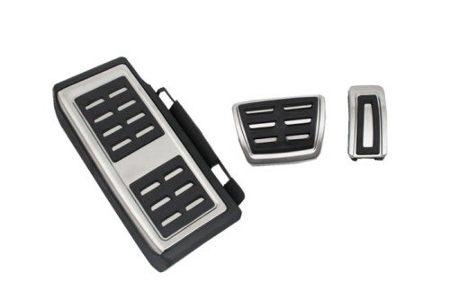 Amoutlet Stainless Steel Automatic Transmission Pedal Set (LHD) For VW Golf MK7