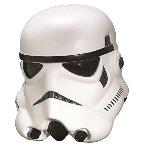 Clone Trooper 2 Piece Helmet - Rubie's Men's Star Wars Collector Stormtrooper Collectors Helmet, Multi, One Size