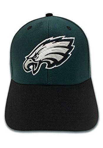 NFL Philadelphia Eagles Basic Logo Velcro Closure Baseball Hat, White