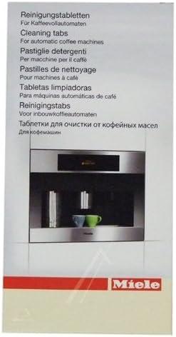 Miele 7616440 – Pastillas limpiadoras para cafetera Miele, 10 unidades: Amazon.es: Grandes electrodomésticos