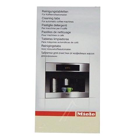 Miele 7616440 - Pastillas limpiadoras para cafetera Miele, 10 unidades: Amazon.es: Grandes electrodomésticos
