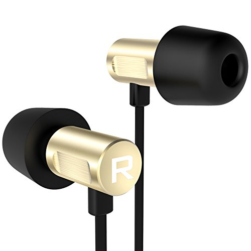 Headphones Earbuds Resolution Heavy Bass%EF%BC%88Golded%EF%BC%89