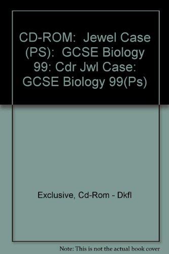 Cdr Jewel Case: GCSE Biology 1999 (Ps)