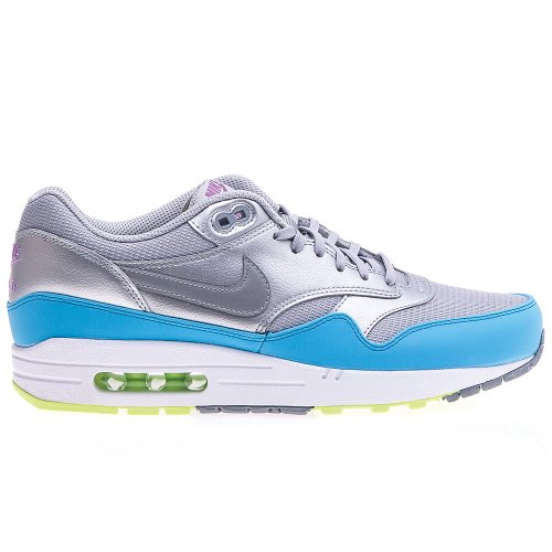 Nike - Air Max 1 FB - 579920004 - Color: Celeste-Gris-Plateado - Size: 45.0