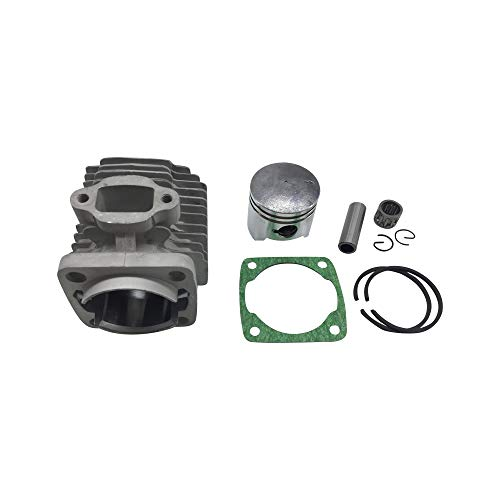 Sibaken 44mm Bore Cylinder Kit with Piston for 2 Stroke 47cc 49cc Pocket Bike Mini Quad