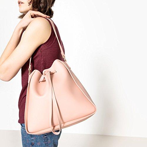La Redoute Collections Frau Tasche, Pastellfarben Gre Taille Unique Rosa