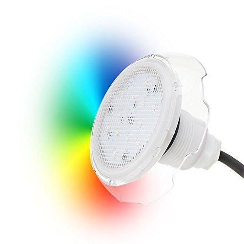 Seamaid Mini proyector LED RGB 36 Led 7W: Amazon.es: Jardín