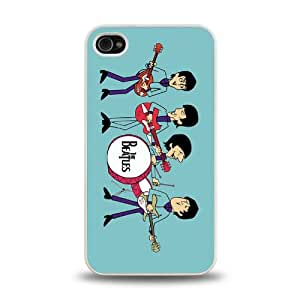 iPhone 4 4S case protective skin cover with forever rock band The Beatles cool poster design #7