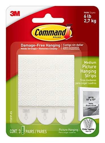 Command Medium Picture Hanging Strips, Indoor