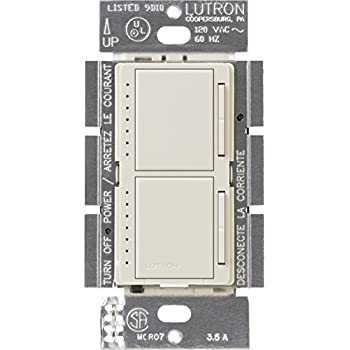Lutron    Maestro Dual    Dimmer    Switch for Incandescent and