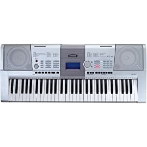 Amazon Com Yamaha Psr 295 Portatone 61 Key Touch Sensitive Musical Keyboard Musical Instruments