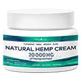 Best Arthritis Knee Pain Creams - Organic Hemp Pain Relief Reliever 10000Mg Muscle, Back Review