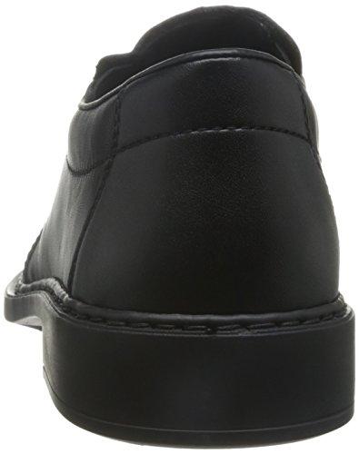 Rieker B0872, Mocasines para Hombre Negro (nero/schwarz / 00)