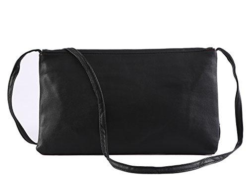 amp; DEEZONE Body Bag Shoulder Women's Cross Black Bag OFrwxIFB