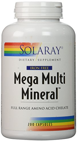 Mega Multi Mineral Without Iron ,200 - Amino Acid Mineral Multi