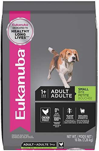 Eukanuba Small Bite Adult Dog Food, 16 lbs.