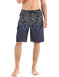 cade00c34c Men's Beachwear Board Shorts Quick Dry with Mesh Lining Swim Trunks