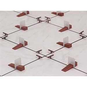 Raimondi Planfix - Sistema nivelador para instalar baldosas (500 unidades, 3-12 mm, piezas con pestañas)