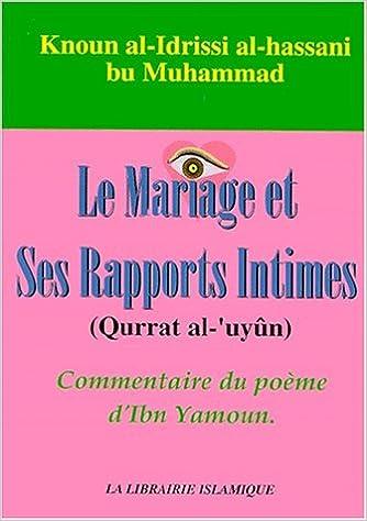 Le Mariage Et Ses Rapports Intimes Commentaire Du Poème D