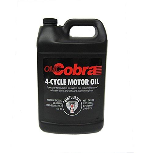 (OMC Cobra 4-Cycle Motor Oil 1 Gallon)