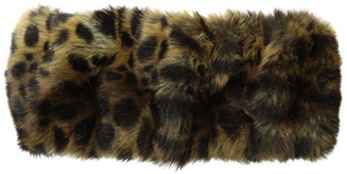 Parkhurst Women's Haley Faux Fur Headband, Cheetah, One Size