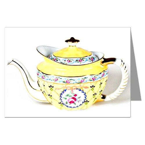 1886 Yellow Teapot Greeting Card Set (Teapot Museum)