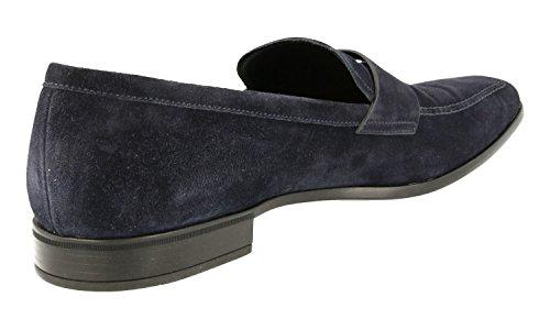 Prada Mens 2DA072 054 F0008 Leather Business Shoes FWbOY4