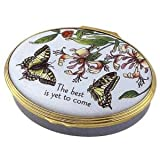 Halcyon Days Enamels General Messages Collection The best is yet to come Box