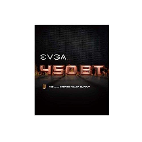 EVGA 450 BT, 80+ Bronze 450W, 3 Year Warranty, Power Supply 100-BT-0450-K1 by EVGA (Image #1)
