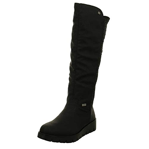 Rieker 2390 Womens Long Boots  Amazon.co.uk  Shoes   Bags 56a4b870e5
