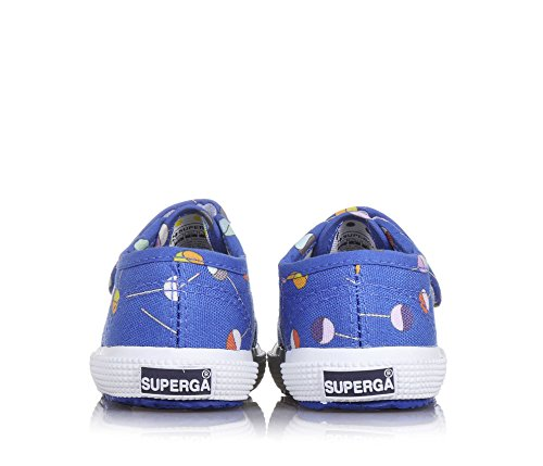 Superga 2750-FANTASY BVEL LOLLIPOP BLUEINTENSE