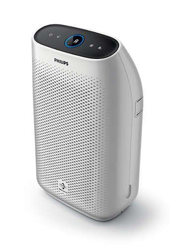 Philips Air Purifier 1000, True HEPA, Reduces Allergens, Pollen, Dust Mites, Mold, Pet Dander, Gases and Odors, for Medium Rooms AC1213/40