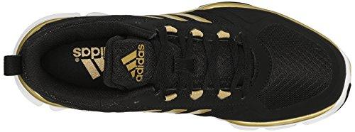 Adidas Heren Freak X Carbon Mid Cross Trainer Zwart / Goud Metallic / Goud Metallic