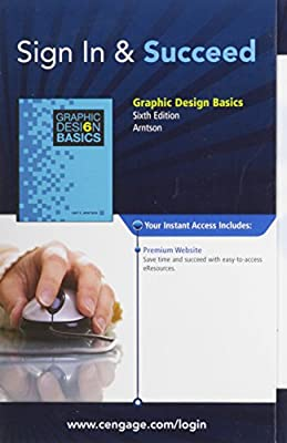 Premium Web Site Printed Access Card for Arntson's Graphic Design Basics, 6th