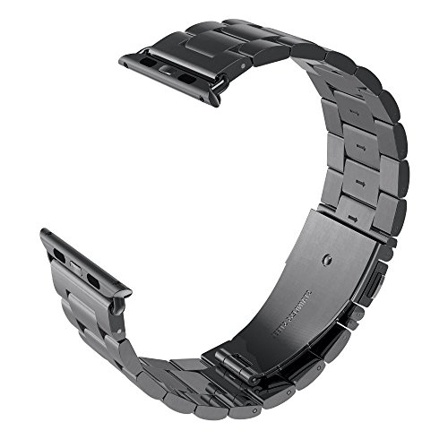 Stainless Steel & Resin Watchband for Apple Watch 38mm
