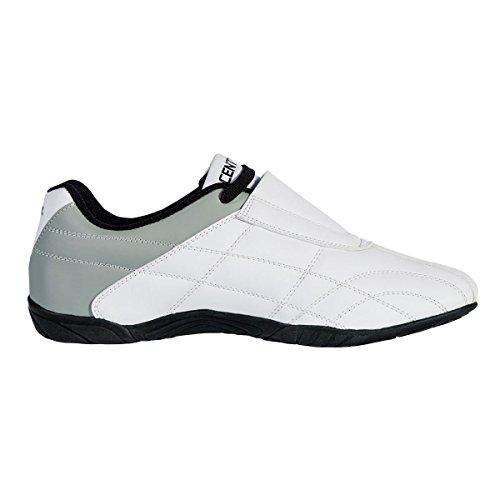 Century Lightfoot Martial Arts Shoes, White, Size 8