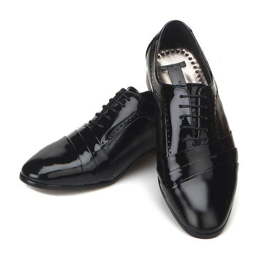 Nouvelle Robe De Cuir Noir Jurdan Hommes Oxford Chaussures Formelles