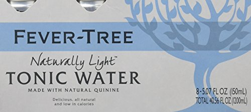 Fever-Tree Naturally Light Tonic Water, 5.07 Ounce Cans (Pack of (Club Soda Diet)