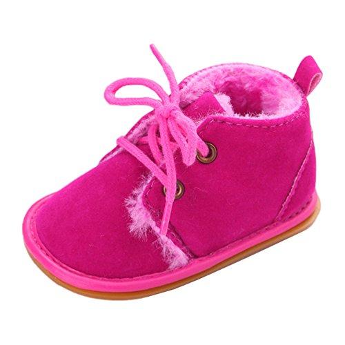 leap frog  Eskimo Snow Boots, Baby Mädchen Krabbelschuhe & Puschen, Rot - rose - Größe: 12-18 monate