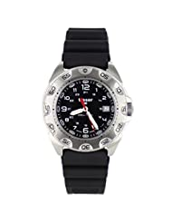 Traser 105471 Men's strainless steel Bracelet Band Black dial Watch