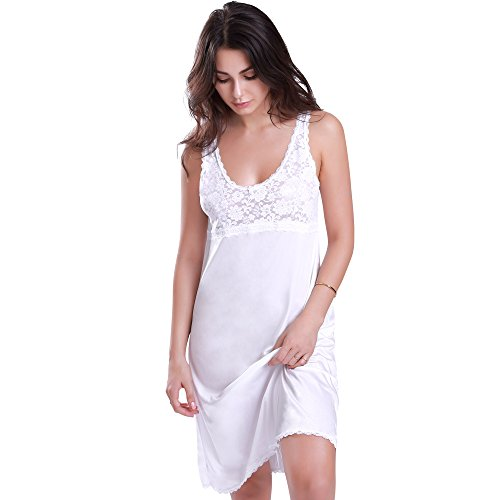 Used, Ilusion A-line Full Slip White 40 for sale  Delivered anywhere in USA