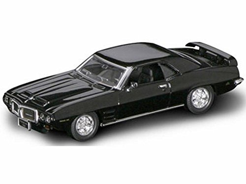 Road Signature 1969 Pontiac Firebird Trans Am, Black 94238 - 1/43 Scale Diecast Model Toy Car