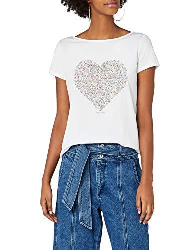 c520ecd3930 By Camiseta Esprit 100 white Para Blanco Edc Mujer AxzwA