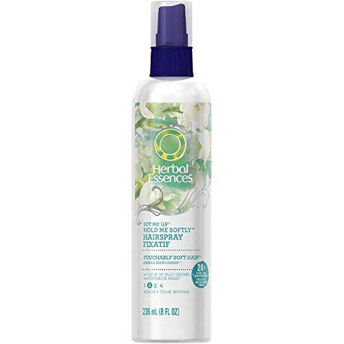 Hair Set Spray - Herbal Essences Set Me Up Extra Hold Non-Aerosol Hairspray 8 oz (Pack of 4)